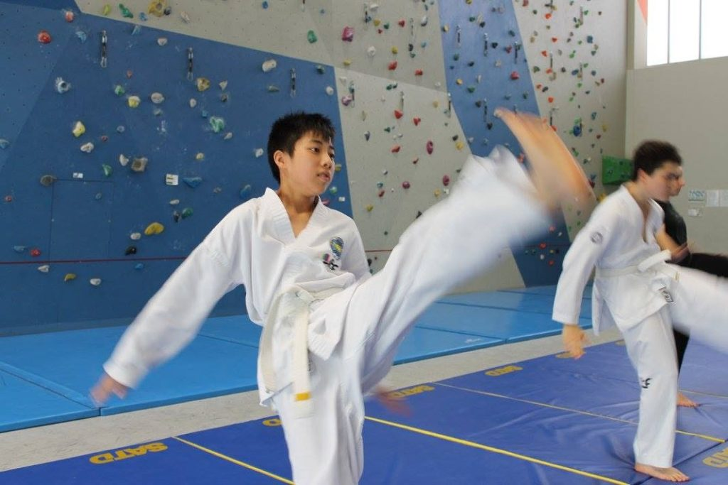 taekwon-do pratique enfants
